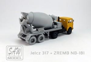 JELCZ 317 + ZREMB NB-181