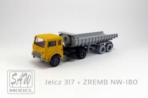 Jelcz 317 + ZREMB NW-180